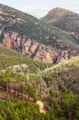 Yol Dağları — Stok fotoğraf