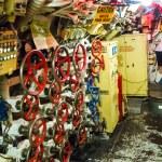Inside submarine — Stock Photo #56933565