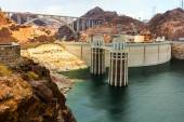 Intake towers at Hoover Dam — Stock Photo