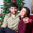 Young smiling couple — Stock Photo #59176095
