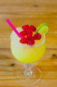 Raspberry Margarita Mexican Restaurant — Stock Photo