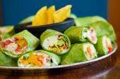 Gluten-Free Vegetarian Veggie Wraps — Photo