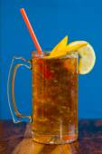Sweet Tea with Fruit — Stock Photo