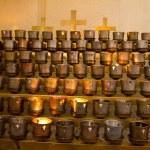 Catholic Church Candles — Stock Photo #59329047