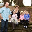 Family of Five People — Stock Photo #65948557