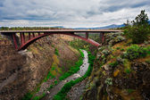 Bridge Over Crooked River in Oregon — Stock Photo