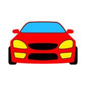 红色汽车 — 图库矢量图片