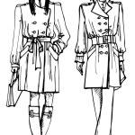 Two stylish lovely girls. — Stock Photo #52944075