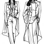 Two stylish lovely girls. — Stock Photo #52944077
