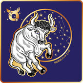 Horoscope.Taurus zodiac sign — Stock Photo