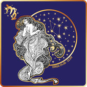 Horoscope.Virgo zodiac sign — Stockfoto