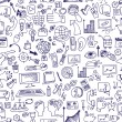 Doodle seo icons backgrround.Business backdrop — Stock Photo #55465659