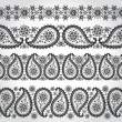 Paisley seamless border — Stock Photo #56881723