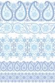 Winter Paisley lace — Foto de Stock