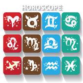 Segni zodiacali Oroscopo — Foto Stock