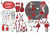 Santa Claus maker — Stockfoto