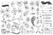 Doodle decor element. — Stock Photo