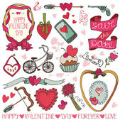 Valentine day design. — Stock Photo