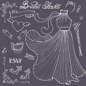 Bridal shower Dress — Φωτογραφία Αρχείου