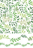 Handsketched green seamless pattern — Zdjęcie stockowe
