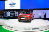 NONTHABURI - NOVEMBER 28: Ford display at The 30th Thailand Inte — Stockfoto