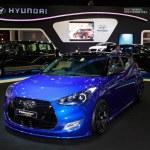 ������, ������: NONTHABURI NOVEMBER 28: Hyundai display on stage at The 30th T