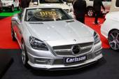 NONTHABURI - NOVEMBER 28: Carlsson decoration for Mercedes Benz  — Stok fotoğraf