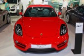 NONTHABURI - NOVEMBER 28: Porsche  display on stage at The 30th  — 图库照片