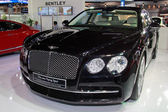 NONTHABURI - NOVEMBER 28: Closed up of Bentley the new flying sp — Stok fotoğraf