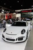NONTHABURI, THAILAND - MARCH 25: The Porsche 911 turbo S is on d — Stock Photo