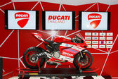 BANGKOK - MARCH 26 : Ducati 1199 PANiGALE S Models First Look mo — Stockfoto