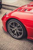 Sport car wheel — Stock Photo