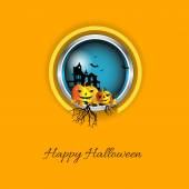 Happy Halloween design background — 图库矢量图片