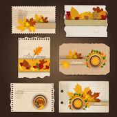 秋季抽象背景. — 图库矢量图片