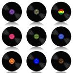 Vinyl record-LP set — Stock Vector #51914733