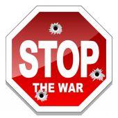 Stop the war — Stock Vector
