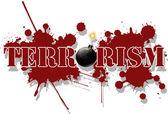 Terrorismo — Vector de stock