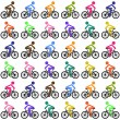 Cycling background — Stock Vector #63829653