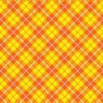 Orange yellow tartan fabric texture diagonal pattern seamless — Stock Vector #64379373