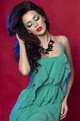 Attractive woman posing — Stock Photo