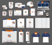 Vector corporate identity templates — Stockvektor