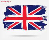 Union Jack flag — Stock Vector