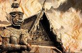 Thai Demon Guardian — Stock Photo