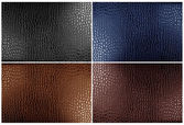 Leather texture backgrounds — Stock Photo