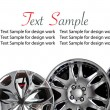 Car disks with text space — Stok fotoğraf #61260827