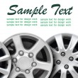 Car disks with text space — Stock Photo #61261209