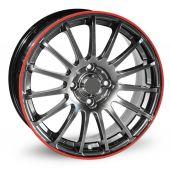 Wheel tyre trim — Stock Photo