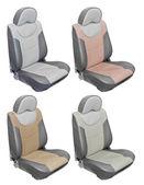 Leather car seats — Stock Photo