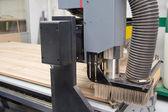 Cutting wood machine — Stock Photo