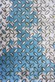 Metal diamond plate texture — Stock Photo